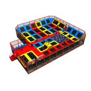 Commercial used funny funfair equipment Trampolines for kids