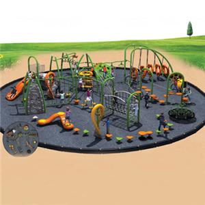 Outdoor playground kid's climbing frames for park