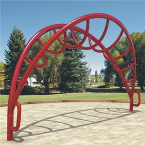 Outdoor playground climbing frame for kid park
