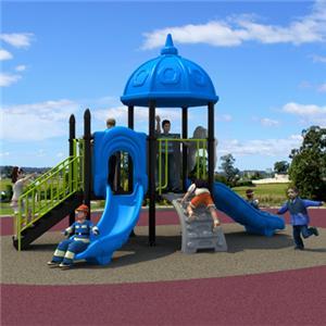 Kindergarten playground preschool kids plastic slide for outdoor use