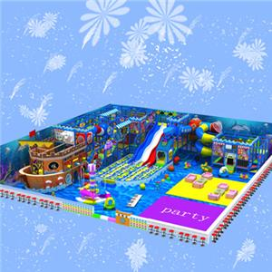 Customized naughty castle attractive indoor soft play for kids