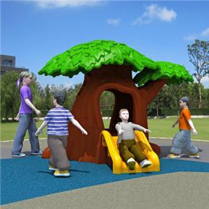 plastic slide tree house for kids