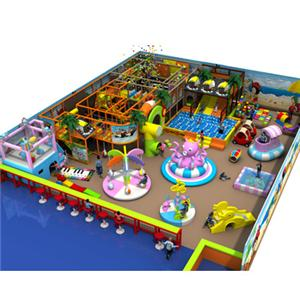 Indoor playground naughty castle soft play for shopping mall