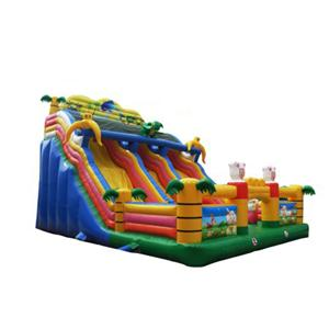 Inflatable jumping castle bounce water slide for backyard