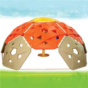 Children plastic rock climbing wall for outdoor playground