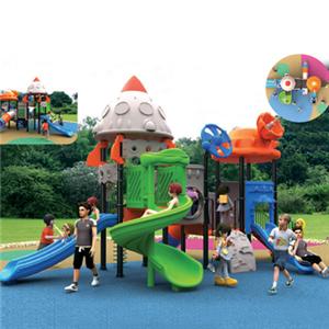 Kids amusement park outdoor plastic slides for Dubai