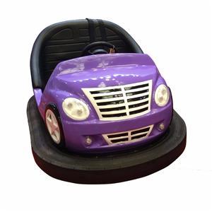 Amusement rides fiberglass body bumper car 2 seats for sale