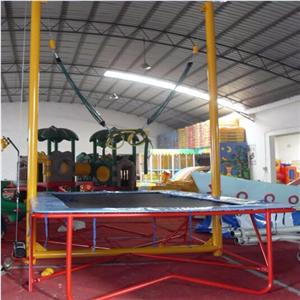 Children outdoor fitness bungee jumping equipment for sale
