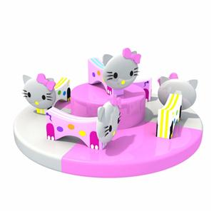 Indoor playground equipment electronic soft toys for children