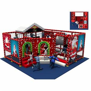 Customized naughty castle indoor soft play for amusement park