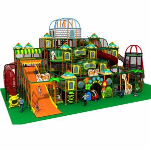 Custom-made indoor naughty castle for theme amusement park