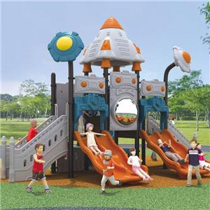 New design outdoor plastic kids used playground slide for sale
