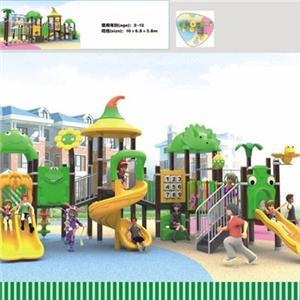 Amusement park plastic kids outdoor playground slides for sale