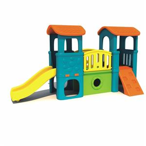 Kid's indoor play set plastic slides/ playhouse slide