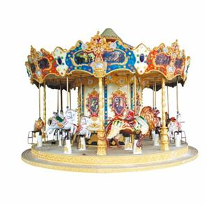 Amusement park equipment electric carousel merry-go-round for sale