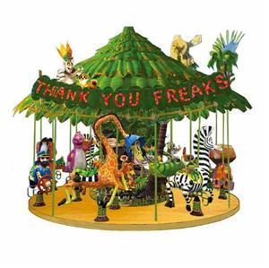 Commercial amusement park rides kids carousel for sale