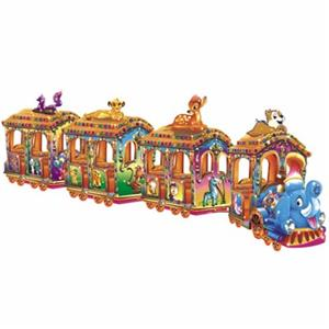 Funny kids amusement rides electric train for children