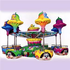 Kids amusement park accessories ride go round carousel for sale