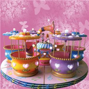 Electric turntable amusement rides for children playground