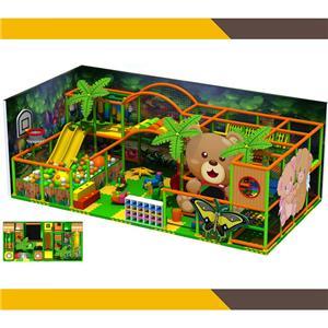 Indoor Playground Equipment jungle theme children play house