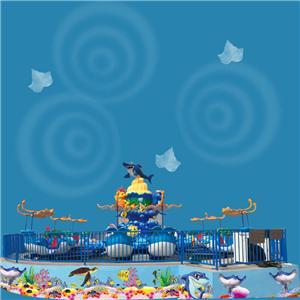 Children kiddie mini portable amusement park kids carousel ride