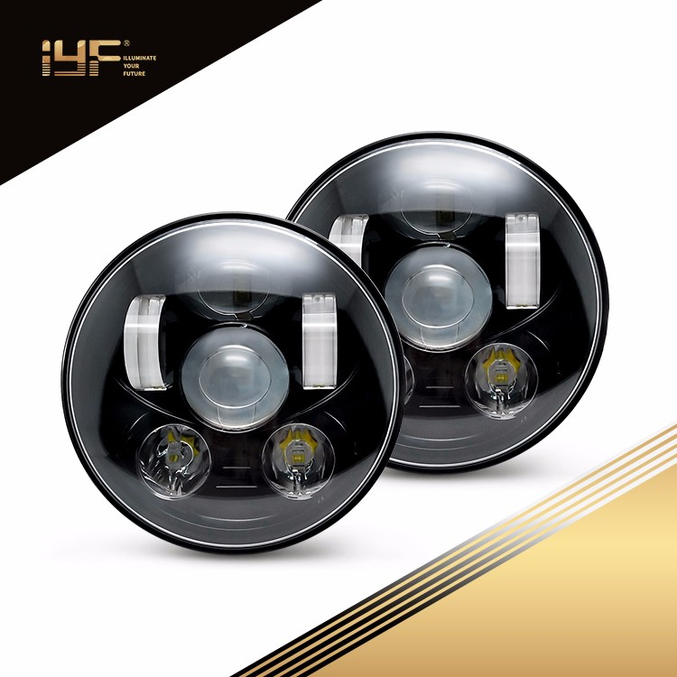 5.75 Inch LED Headlights For Harley Davidson Motorcycles