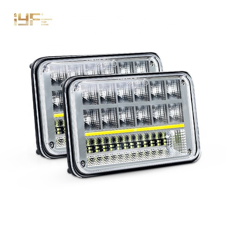 Jeep Cherokee LED Headlights Ford Trucks