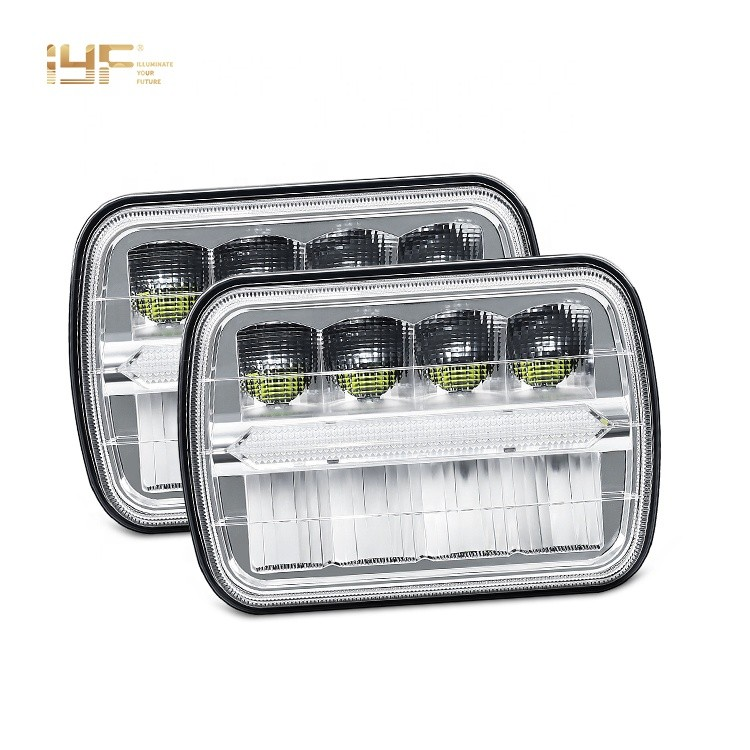 LED Headlights For Jeep Cherokee Xj 1993 Toyota Pickup