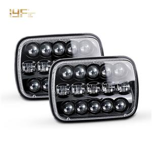Faro LED 5X7 para Jeep / camiones / coches todoterreno