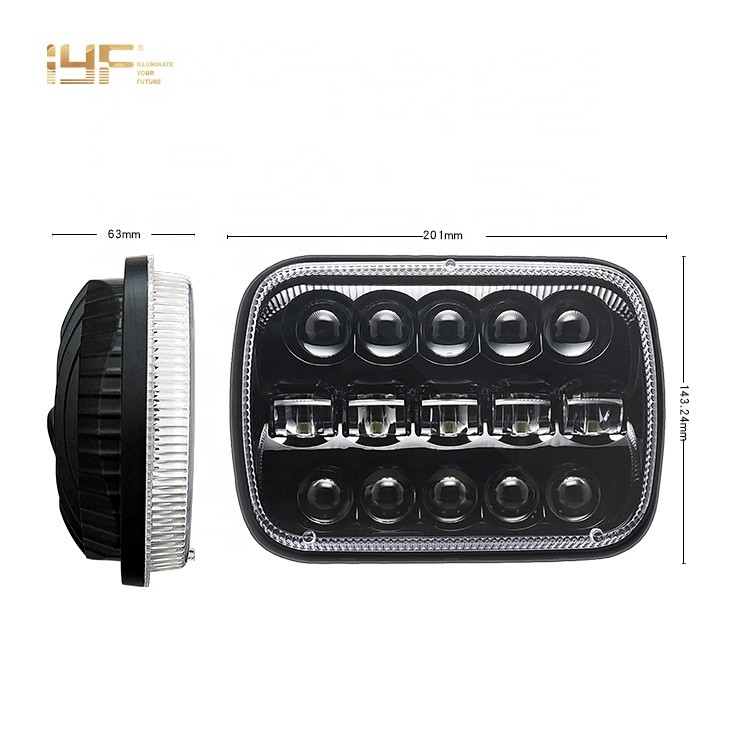 5X7 LED Headlight For Jeep/trucks/offroad Cars Manufacturers, 5X7 LED Headlight For Jeep/trucks/offroad Cars Factory, Supply 5X7 LED Headlight For Jeep/trucks/offroad Cars