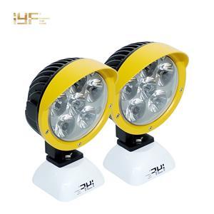 5 인치 라운드 37W LED 작업 라이트 스팟 홍수 빛