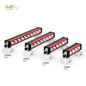 شريط إضاءة يؤدى عالي الجودة من الشركات المصنعة للمصابيح الأمامية 18 بوصة