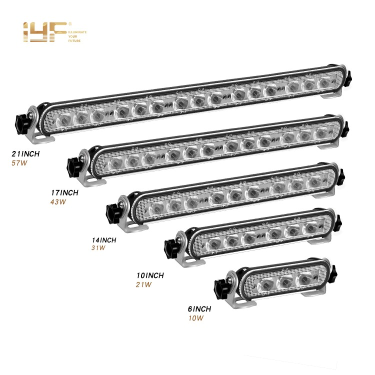 12 Inch LED Light Bar Single Row LED Light Bar Super Slim LED Off Road Light Bar