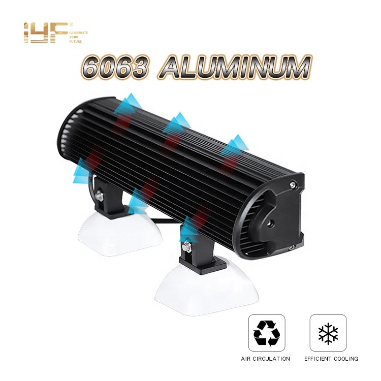Led Light Bar With Lens For Aftermarket Auxiliary Roof Top Led Truck