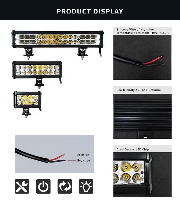 Barra luminosa 150w Led Offroad