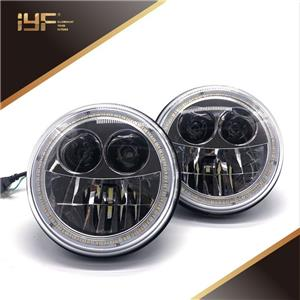 7 Inch Best LED Halo Headlights For Jeep Wrangler