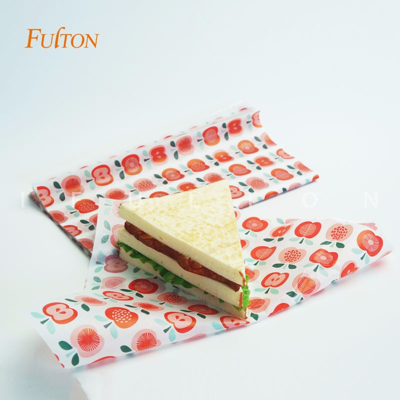 Custom Hamburger Packaging Tissue Paper