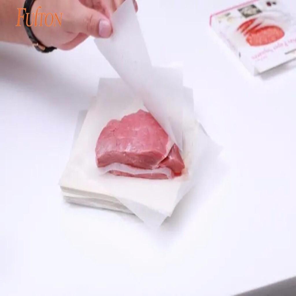Pergaminho biodegradável, cera, papel à prova de graxa