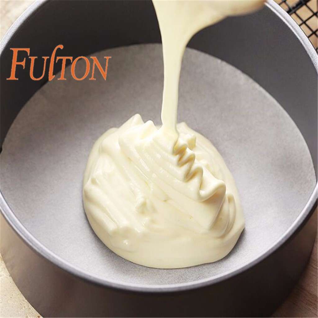 Silicone Coated Round FULTON Steaming Paper