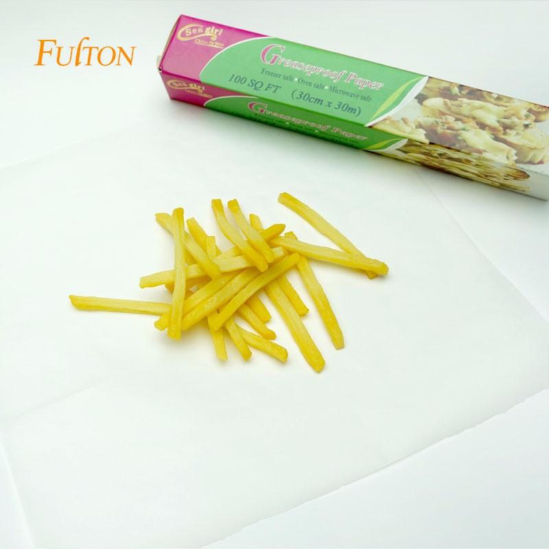 Impressão de alta qualidade em papel à prova de graxa para embalagens de pão