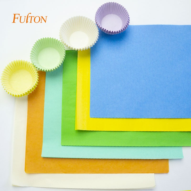 Rolo de impressão de papel à prova de graxa personalizado para embalagem