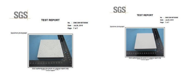 YEYANG Stone Product Quality Control