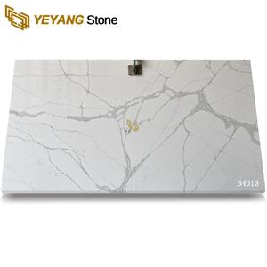 Waterproof Surface Calacatta Quartz Stone For Project