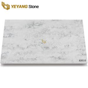 Cut-Size Calacatta Quartz Tile For Engineering Project
