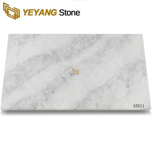 White Calacatta Classic Quartz Slabs Supplier