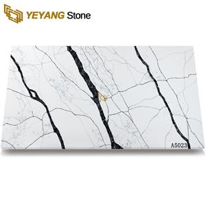 Qaulity Calacatta Grey Quartz Hot Sale Artificial Stone Discount