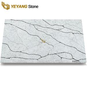 Calacatta Quartz Slab Price Cost-Effective Manufacturer Export