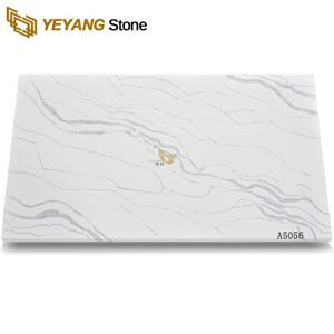 Grey Vein White Quartz Slabs Manufacturers In Competitive Price