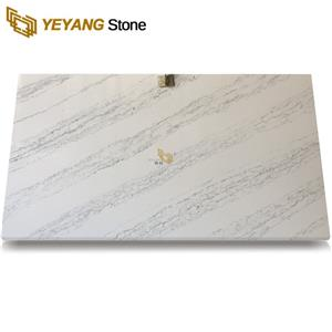 Quartz Stone Countertop From Solid Surface Kitchen Top Decoration Materials