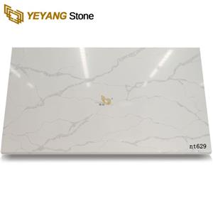 Newly Affordable Artificial Quartz Calacatta Quartz Types